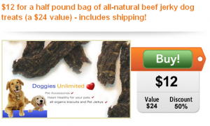 half off beef jerky dog treats includes free shipping