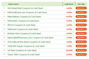 earn cash back for the shopping you do online