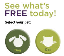 See what's free today at Purina