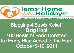 100 Bowls of Food Donated for Every Blog Added to the Hop Oct 3-10