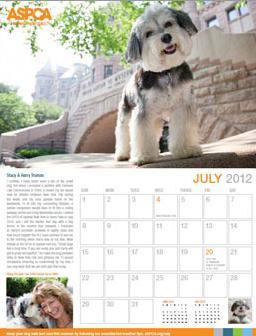 aspca 2012 calendar