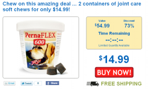 barking deals dog joint care soft chews on sale