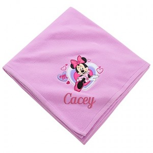 disney personalized throw on sale with promo code