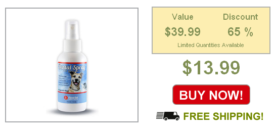 dog dental spray on sale