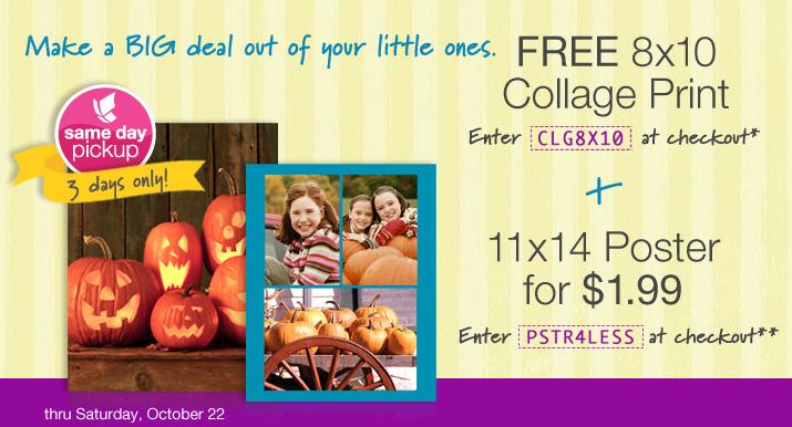 free photo collage at walgreens