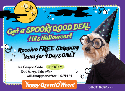 free shipping three dog bakery