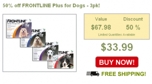 frontline plus for dogs and cats on sale at barking deals