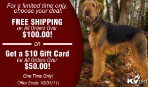 kv pets supply deals