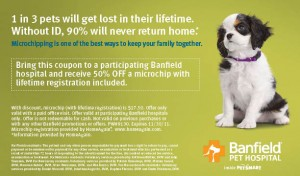 half off microchip with coupon