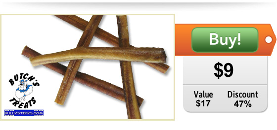 Bully Sticks Deal for dogs