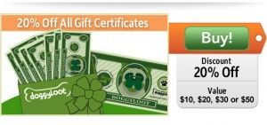 20% Off DoggyLoot Gift Certificates