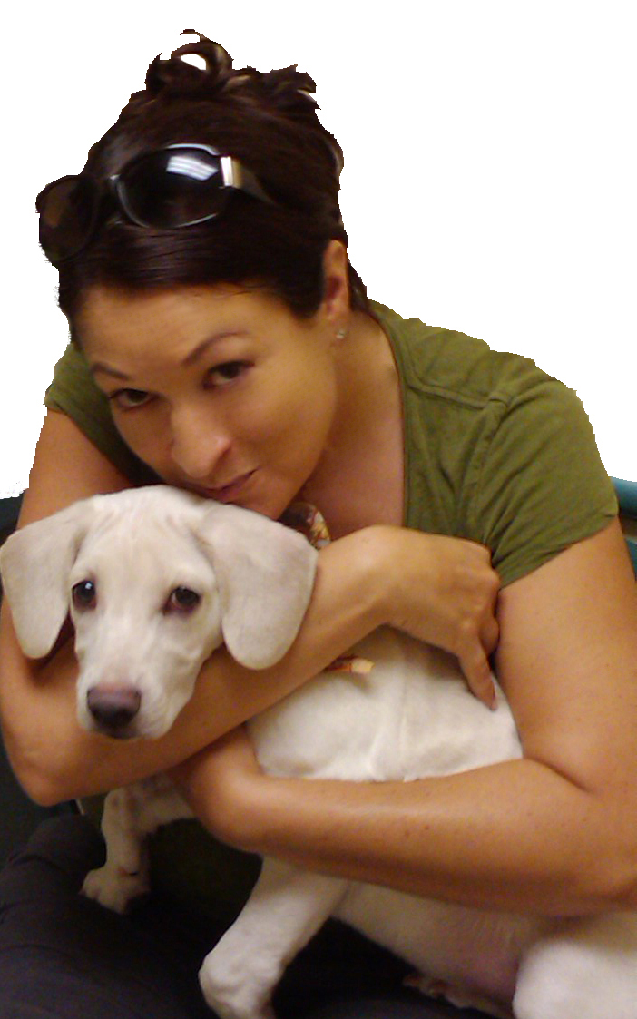 daisy and mama on adoption day