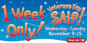 PetSmart Veteran's Day Sale 1 Week Only