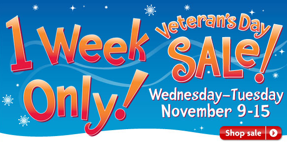 PetSmart Veteran's Day Sale 1 Week Only