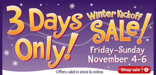 Petsmart Winter Kickoff Sale