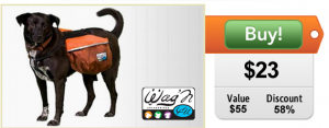 doggy backpack on sale