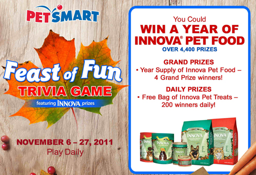 feast of fun trivia game