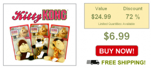 kitty kongs on sale
