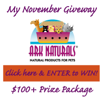 Enter to win $120 Pet Prize Package from Ark Naturals