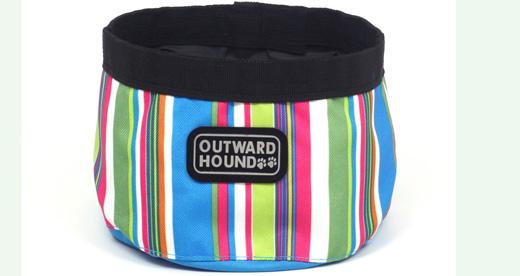 portable dog bowl half off
