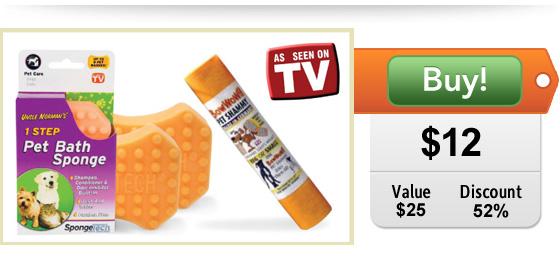 pet sponges and shammy on sale