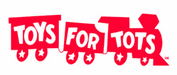 half off donation to Toys For Tots