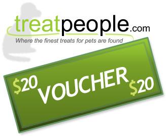 half off treatpeople.com voucher for pet treats