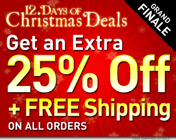 25% off plus free shipping with Baxterboo Promo Code