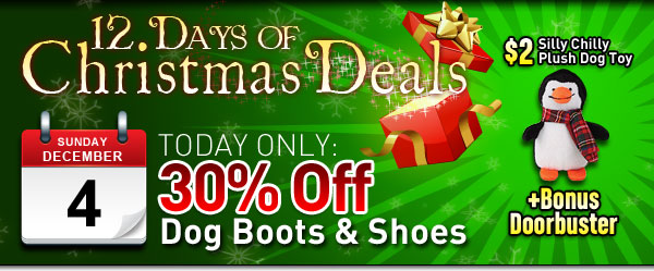 BaxterBoo 12 Days of Christmas Deals for Dogs