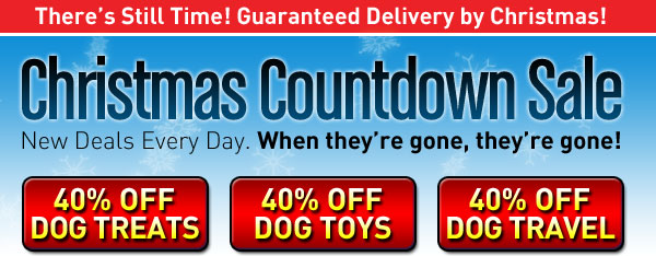 40% off Dog Toys and more at BaxterBoo
