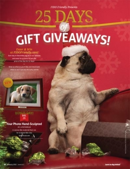 FIDO Friendly 25 Days of Gift Giving Pet Giveaway