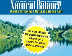 Natural Balance Pet coupons