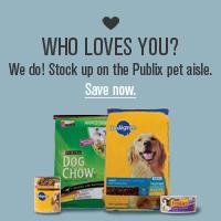 PUBLIX printable pet coupons