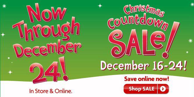 PetSmart Christmas Countdown Sale