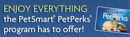 PetSmart PetPerks $10 Off with promo code