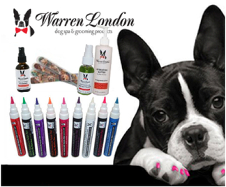 Warren London spa set for dogs