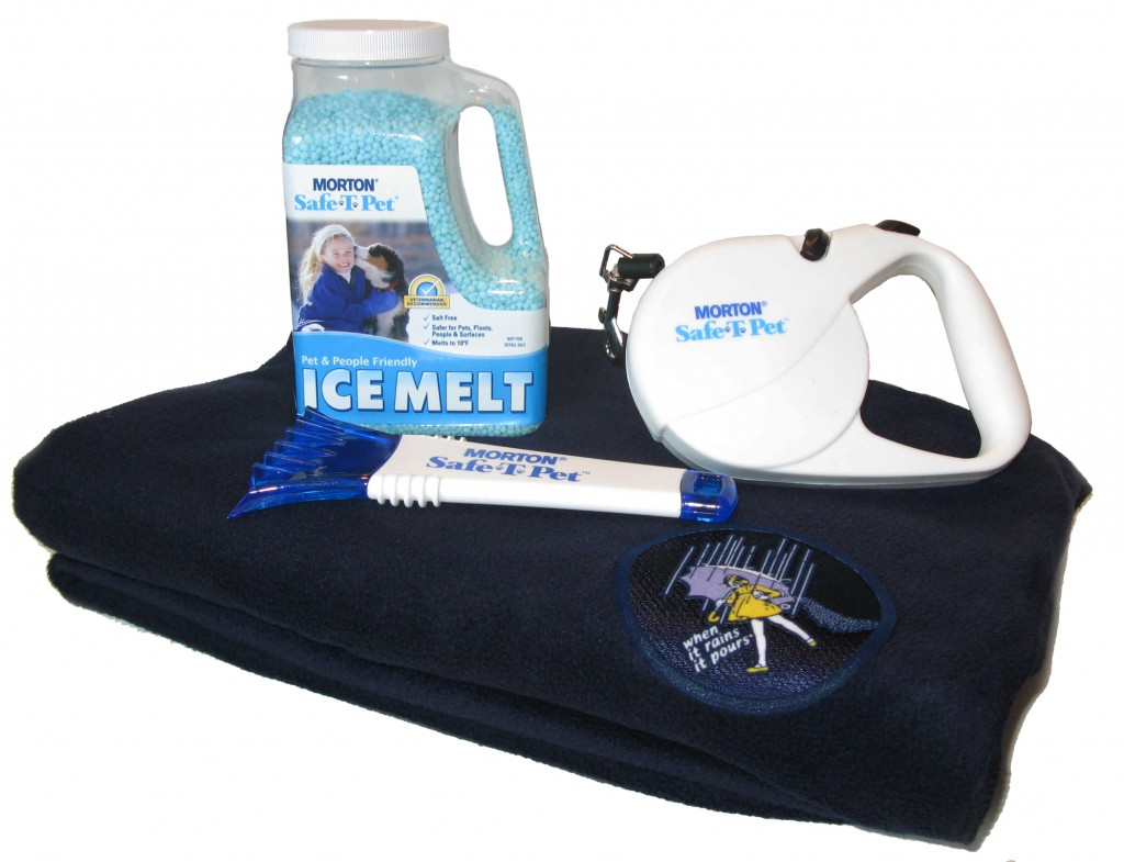 Win 1 of 2 Winter Pet Safety Kits from Morton