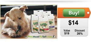 Greenies on sale at doggyloot deals site for dogs