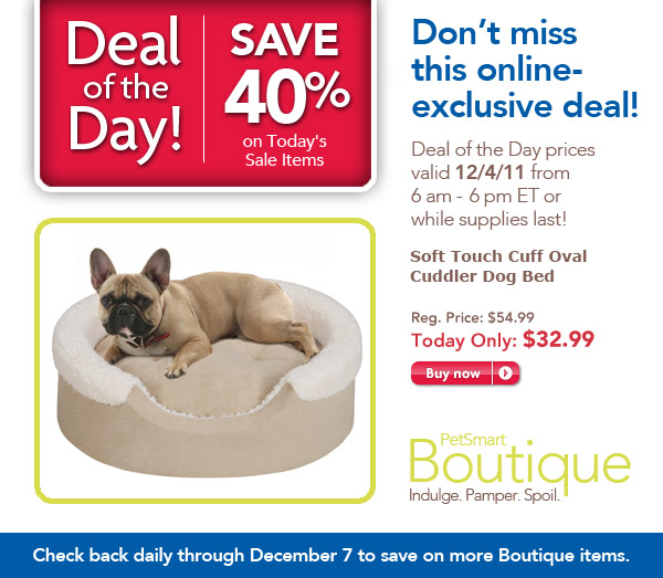 PetSmart Deal of the Day