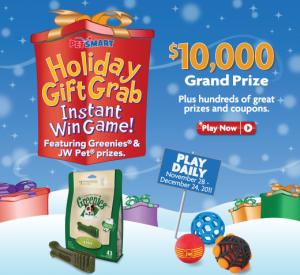 PetSmart Holiday Gift Grab Giveaway