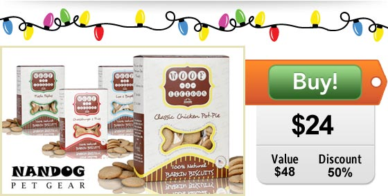 Gourmet Dog Treats on Sale at DoggyLoot Pet Deals Site!