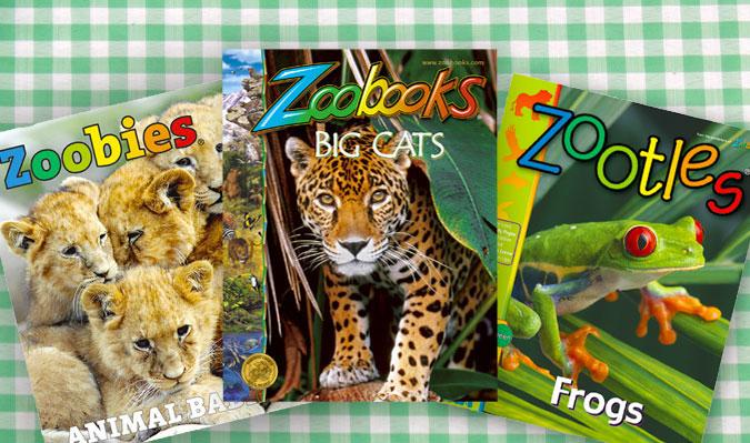 Half Off Zoobooks, Zootles, or Zoobies Magazines