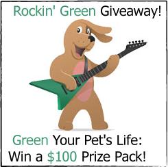 Rockin' Green $100 Eco-Friendly Pet Prize Pack