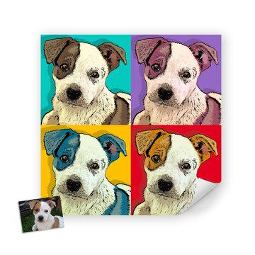 Pop Art Pup Photo Makeover