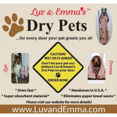 Luv & Emma's Dry Pets Microfiber Pet Towels on sale at Amazon!