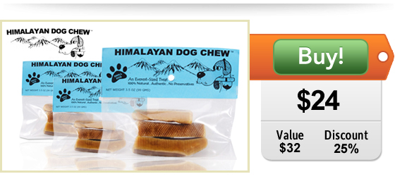 Himalayan Dog Chews at DoggyLoot