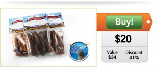 Bison Chews for Dogs