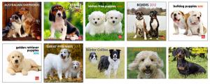 Half Off 2012 Puppy and Dog Calendars