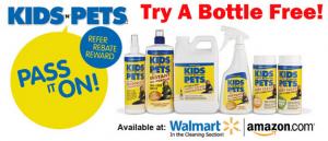 Kids N Pets Free Bottle Offer