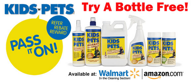 Kids N Pets Free Bottle Offer